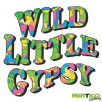 Wild Little Gypsy, Adult t-shirt